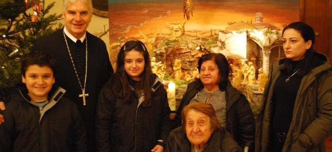 Syrische Familie in Göttweig