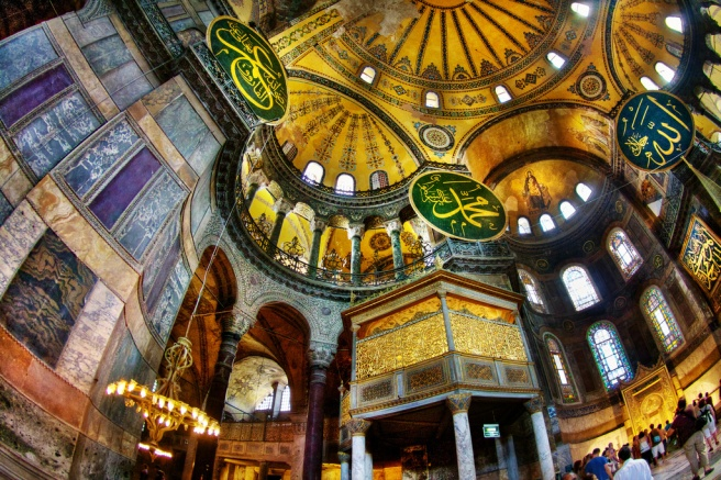 Hagia Sophia in Istanbul (by Flickr-Daniel Peckham_CC BY-NC-SA 2.0)