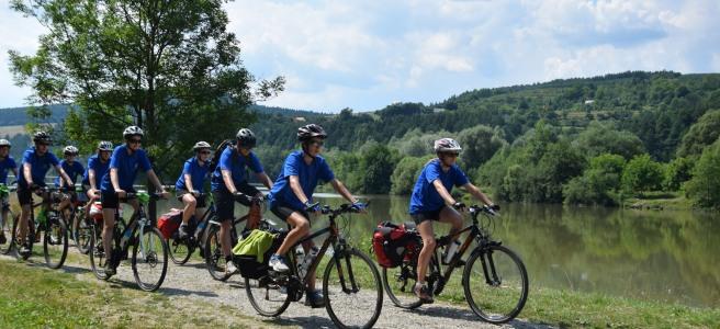 Mit dem Rad nach Krakau