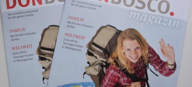 Volontariat im Don Bosco Magazin 01/17