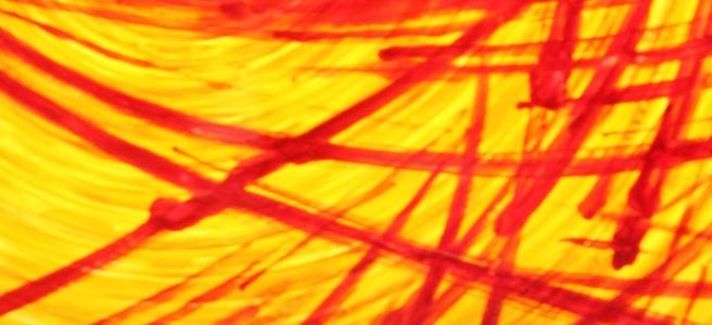 Fenster mit Sonnenstrahlen im Salesianum