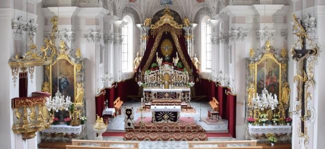 Pfarrkirche Fulpmes zu Pfingsten