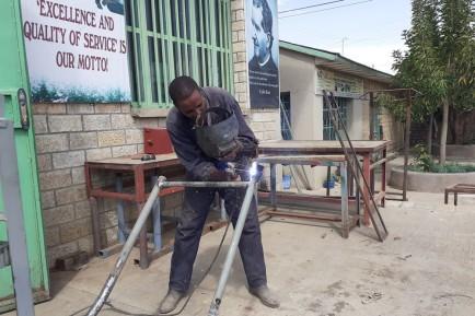 Don Bosco Poly Technic College in Mekelle/Äthiopien