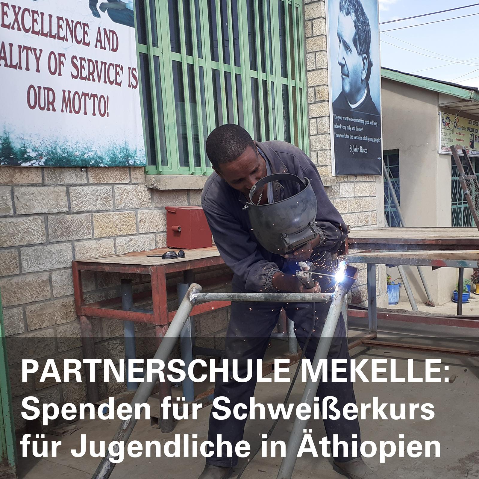 Partnerschule in Äthiopien
