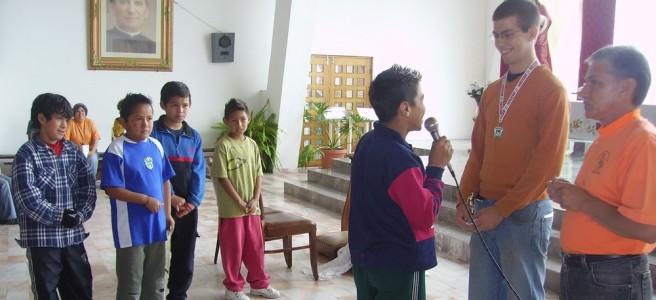 Verabschiedung in Mexiko im Juli 2007